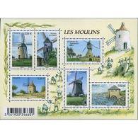 France Feuillet N°4485 Les Moulins - Blocs & Feuillets