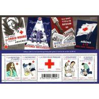 France Feuillet N°4520 Au Profit De La Croix-Rouge. Les Gestes Qui Sauvent - Blocs & Feuillets