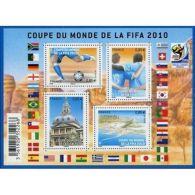 France Feuillet N°4481 Coupe Du Monde De Football 2010 En Afrique Du Sud - Blocs & Feuillets
