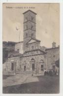 Cartolina Paesaggistica Bolsena - Collegiata Di S. Cristina - Viaggiata 1915 - Viterbo
