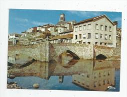 G-I-E , Cp , 87 , BELLAC , Le Pont De La PIERRE , Ed : Combier 87.011 , Vierge - Bellac