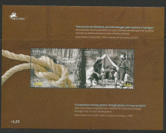2007, Azoren, 532/33 Block 33, Europa: Pfadfinder. MNH - Europa-CEPT