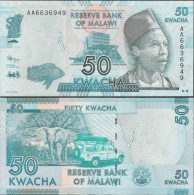 Malawi 2012 - 50 Kwacha - Pick 58 UNC - Malawi