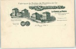 51036663 - CHAUX-DE-FONDS - C.R.Spillmann&Cie - Fabrique De Boites De Montres En Or - NE Neuenburg