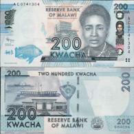 Malawi 2012 - 200 Kwacha - Pick 60 UNC - Malawi