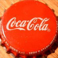 Coca-Cola Kronkorken ITALY 2014 unused soda bottle crown cap, capsule chapa gaseosa Coke tappo