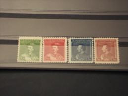 CECOSLOVACCHIA - 1932 MIROSLAV 4 Valori - NUOVI(+/++) - Cecoslovacchia