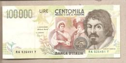 Italia - Banconota Circolata Da 100.000 Lire - 1994 - [ 2] 1946-… : Républic