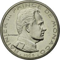 Monnaie, Monaco, 1/2 Franc, 1965, SUP+, Nickel, Gadoury:149 - Monaco