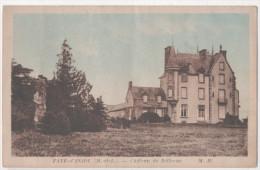 CP FAYE D'ANJOU CHATEAU BELLEVUE (49 MAINE Et LOIRE) COLOREE - Autres Communes