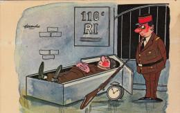 Fantaisie Militaire 110e RI Illustrateur Alexandre - Alexandre