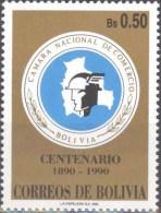 Bolivia 1990 CEFIBOL 1376 ** Centenario De La Camara Nacional De Comercio. See Description. - Bolivia