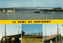 """76 - Le Pont De Brotonne"""" - Mise En Service: Juillet 1977 - Multi-vues - - France"""