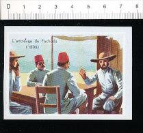 2 Scans / L'entrevue De Fachoda / Capitaine Marchand - Kitchener / Histoire De France   // IM 15/11 - Alte Papiere