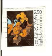 France Y&T Oblitéré N° 2727  1991 -   Max Ernst : Après Nous La Maternité Centenaire 1891-1976 - France