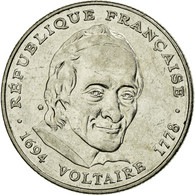 Monnaie, France, Voltaire, 5 Francs, 1994, SUP, Nickel, KM:1063, Gadoury:775 - France