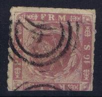 Denmark: Mi Nr 10 Used  1863 - Gebraucht