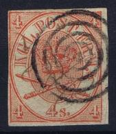 Denmark: Mi Nr 13 Aa U Used  1864  Ungezaht  Non Perforated - Gebraucht