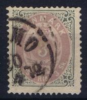 Denmark: Mi Nr 17 I Ab Violet Used    1870 - 1864-04 (Christian IX)