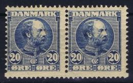 Denmark: Mi Nr 49 I Pair  MNH/** Postfrisch - Nuovi