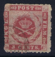 Denmark: Danish West Indies  Mi Nr 3 Used Signed/ Signé/signiert - Denmark (West Indies)