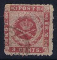 Denmark: Danish West Indies  Mi Nr 3 Used Signed/ Signé/signiert