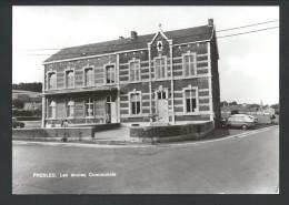 CPA - PRESLES - Les Ecoles Communales - CPSM - Smetz  // - Aiseau-Presles