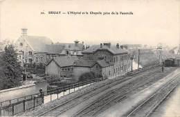 Bruay En Artois (La Buissière)    62     L'Hôpital, La Chapelle , La Voie Ferrée - Frankreich