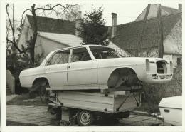 ALTE AUTO   --  ORIGINAL PHOTO    --  2 X   AUTO - UNFALL  --  18 Cm X 12,8 Cm - Cars