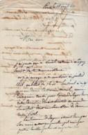 VP2700 - LAS - Lettre De Mr Le Marquis Ch.L.d´ AUDIFFRET à PARIS Concernant Le Notaire BURDEL De LAGNY - Autographs