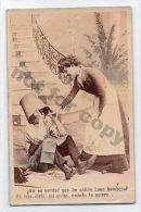 Humor Not That I'm A Good Firefighter ? Fireman RPPC Original Postcard Ca1900 - Photographs