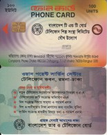 BANGLADESH(chip) - First Chip Issue 100 Units(glossy Surface), Generic Card(reverse C), Used