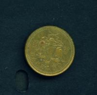 BARBADOS  -  1999  5c  Circulated Coin - Barbados