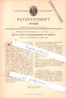 Original Patent  - Wilhelm Vorbach In Zittau I. S. , 1889 , Dampfkessel Nebst Ausrüstung !!! - Historische Dokumente