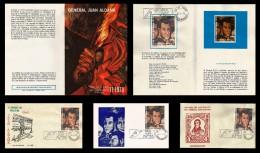 E)1975 MEXICO, GENERAL JUAN ALDAMA, 200 YEARS OF THE BIRTH OF GENERAL ALDANA, INSURGENT, NICE LOT SET - Mexico