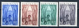 1954 - SURINAME - Mi. 347/350 - NH - (REG2875...) - Surinam