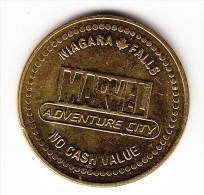 Marvel Adventure City Niagara Falls Canada Spider Man Token - Canada