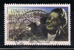 YT N° 1461 - Oblitéré - Compositeurs - Chile