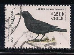YT N° 1473 - Oblitéré - Oiseaux - Chile
