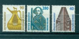 Allemagne -Germany 1988 - Michel N. 1379/81 - Timbres-poste Ordinaires - [7] République Fédérale