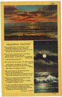 Peaceful Pacific - Poem 1945 - Postcards