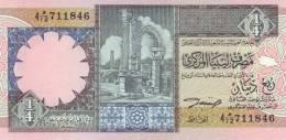 LIBYA P. 57b 1/4 D 1991  UNC - Libië