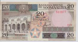 SOMALIA P. 33a 20 S 1983 VF - Somalia