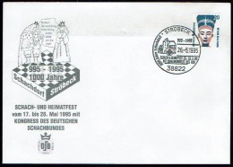 Schaken Schach Chess Ajedrez échecs - Ströbeck Stroebeck 1995 - Echecs