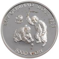 Corée Du Sud, République, 5000 Won - Korea, South