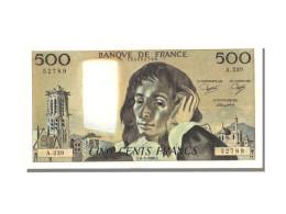 500 Francs Type Pascal - 1962-1997 ''Francs''