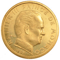 Monaco, Rainier III, 50 Centimes - 1960-2001 Nouveaux Francs