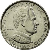 Monnaie, Monaco, Franc, 1960, SUP+, Nickel, Gadoury:150 - 1960-2001 Nouveaux Francs