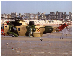 (100) Belgium Army Sea King Rescue Helicopter - Hubschrauber