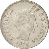 Colombia, 20 Centavos, 1970, KM:237, TTB+, Nickel Clad Steel - Colombia